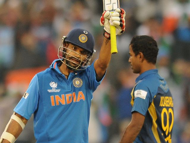 Shikhar Dhawan scored 68 runs