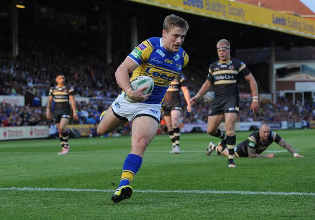 Jimmy Keinhorst was impressive in Leeds' victory