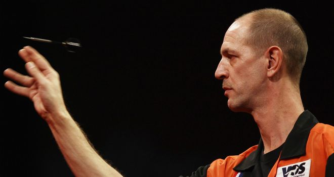 Roland Scholten: former champion defeated by qualifier Conan Whitehead