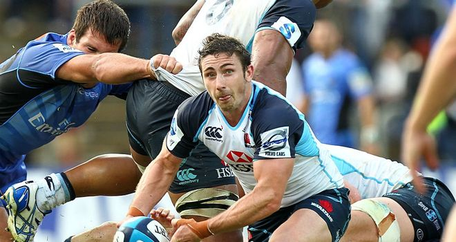 Brendan McKibbin in action for the Waratahs