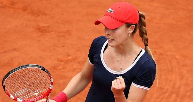 Alize Cornet: Frenchwoman reaches second round in Nuremberg