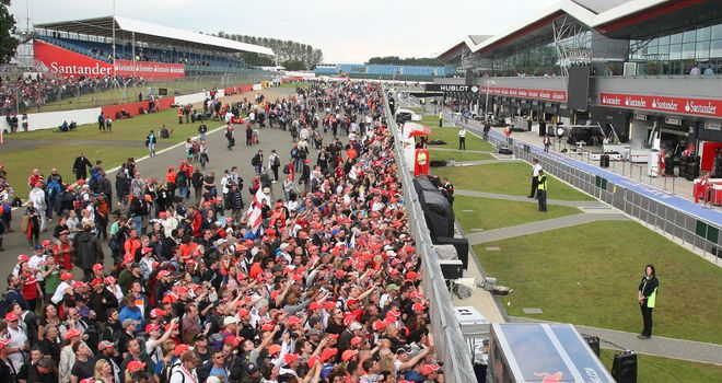 Silverstone: Still a chance to attend this year's British GP