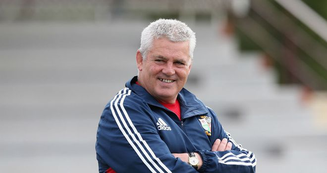 Warren Gatland: Pleased with the start made by the Lions