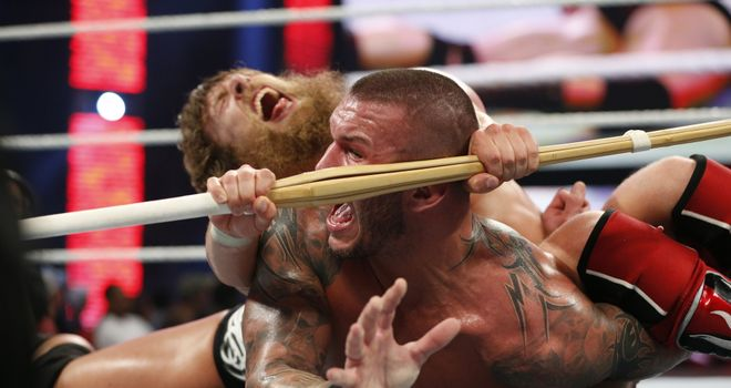 Bryan and Orton: the warring Superstars will appear on the Cutting Edge