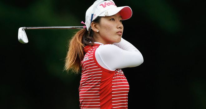 Chella Choi: Korean fired 67 to lead LPGA Championship after first round