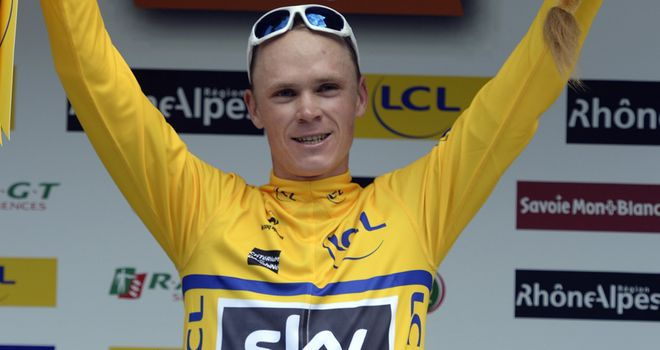 Chris Froome: Fourth stage race win of 2013