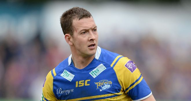 Danny McGuire: Was also fined £300 for his dangerous tackle on Wigan's Blake Green
