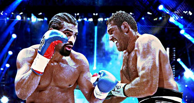 A Haye-Fury showdown would create huge interest in Britain.