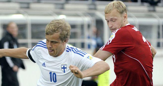 Teemu Pukki: Scored for Finland