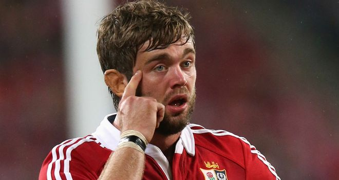 Geoff Parling: The lock doesn't want the Lions to mope around after loss