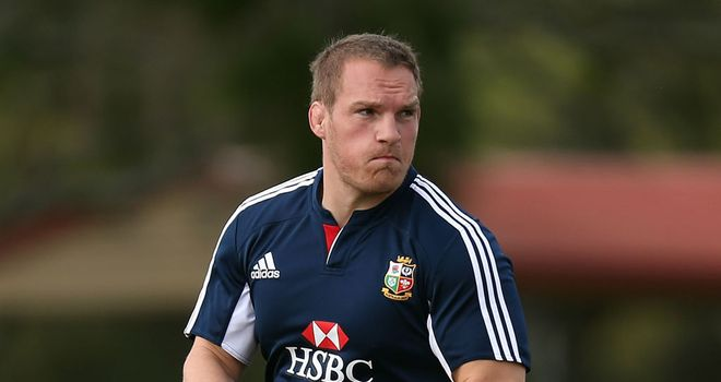 Gethin Jenkins: Sidelined for three weeks with calf strain