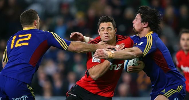 Dan Carter: The All-Blacks fly-half was at his influential best