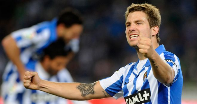 Inigo Martinez: On target for Sociedad