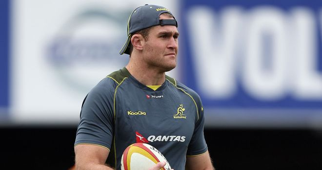 James Horwill: Australia captain in determined mood