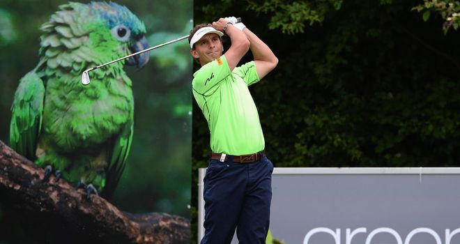 Joost Luiten: Six birdies in his second round in Austria
