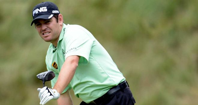 Louis Oosthuizen: Strained a hip flexor during first-round 75