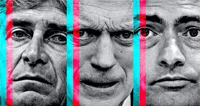 All change in the Premier League as three of the division's top four have new managers at the helm