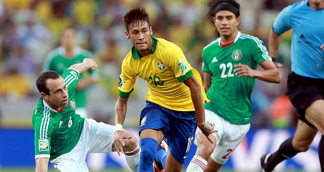 Neymar: Was again key for Brazil