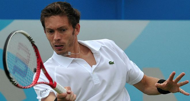 Nicolas Mahut: Overcame Lleyton Hewitt in three-set thriller