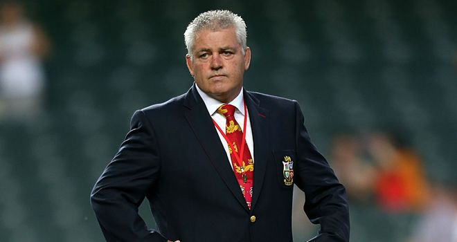 Warren Gatland: Was left to rue defeat in Melbourne