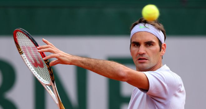 Roger Federer: straight-sets victory in Germany