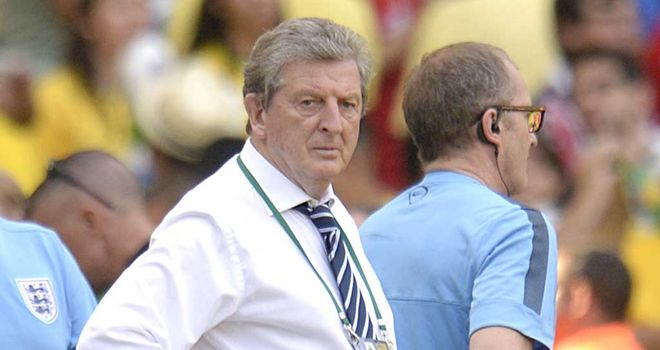 "Roy Hodgson: England ""a work in progress"""