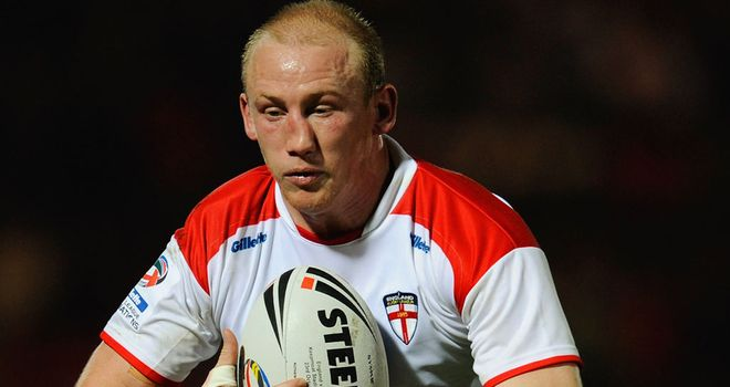 Shaun Briscoe in England colours