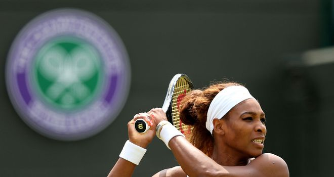 Wimbledon 2013 | Serena Williams v Kimiko Date-Krumm June 29, 2013