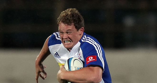 Deon Fourie on the charge for the Stormers