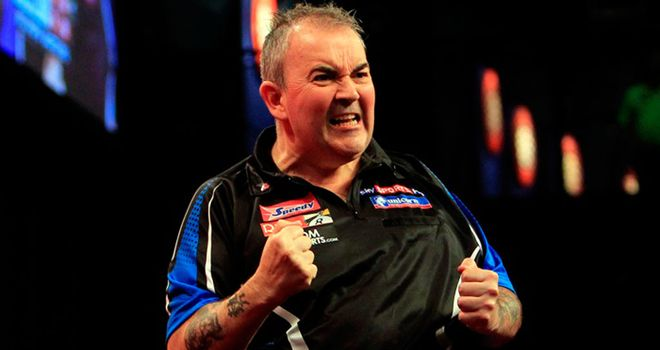 Phil Taylor: Defending champion