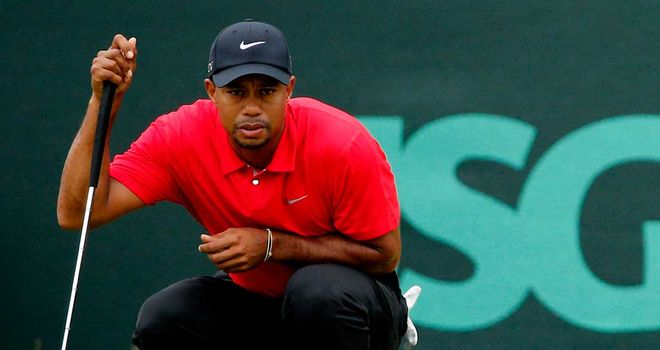 Tiger Woods: Started with a birdie, took eight at the next