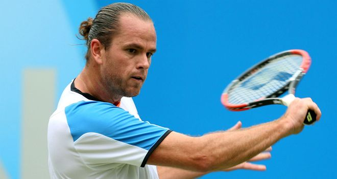 Xavier Malisse: Upset defending champion David Ferrer in Holland