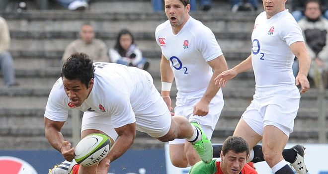 Billy Vunipola: Keeping grounded despite hat-trick on his first England start
