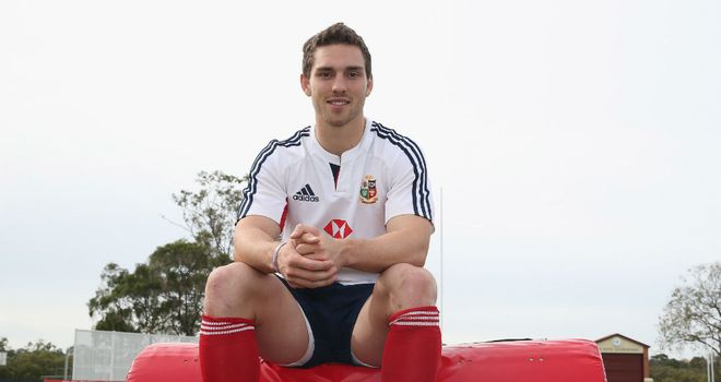 British and Irish Lions winger George North