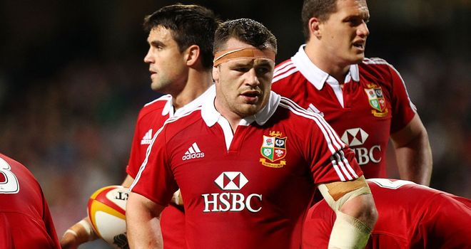 Cian Healy: Lions prop cited after win over Western Force