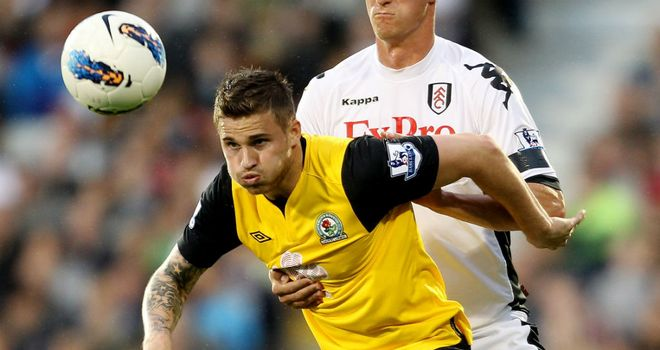 David Goodwillie: The striker has struggled to make an impact at Blackburn