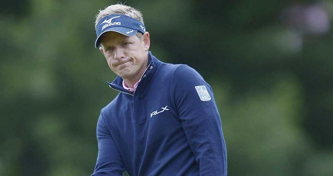 Luke Donald: Englishman rues poor finish at Merion