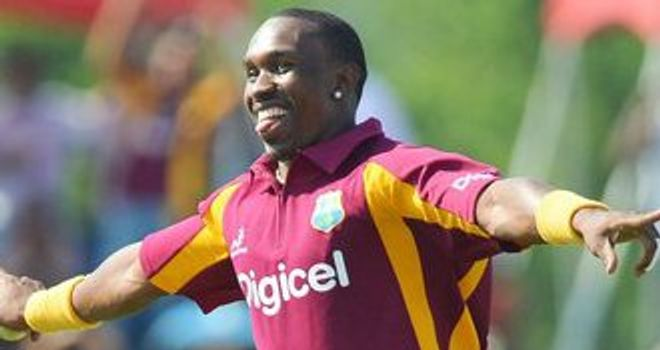 Dwayne Bravo: Wrapped up the victory with two late wickets
