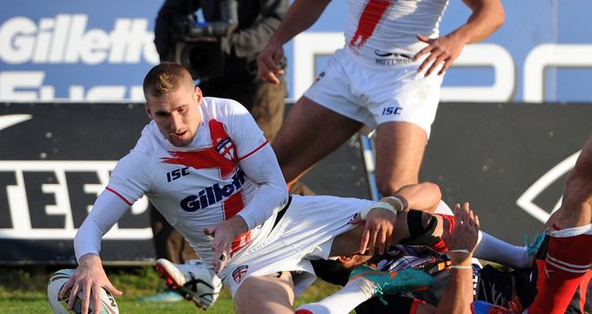 Sam Tomkins: fancies England's chances later this year at the World Cup