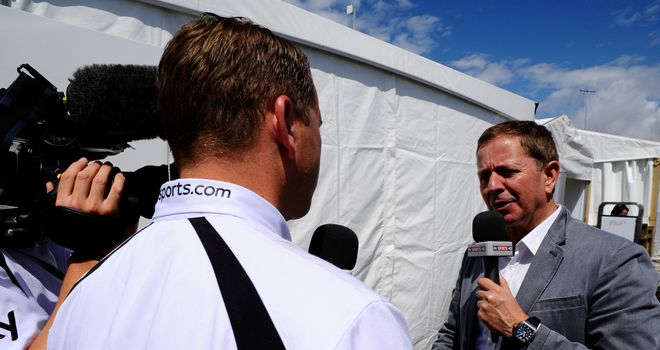 Martin Brundle: Says McLaren can't afford to focus on 2014 yet