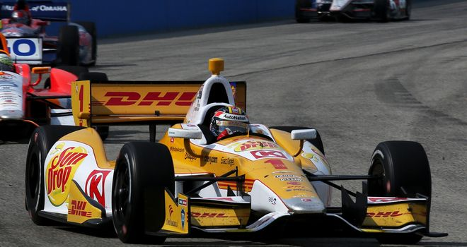 Ryan Hunter-Reay: Back-to-back wins in the Milwaukee Mile