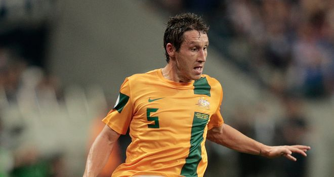 Mark Milligan: Australia international reported to be attracting interest from QPR