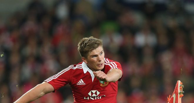 Owen Farrell: Learnt from Lions tour of Australia