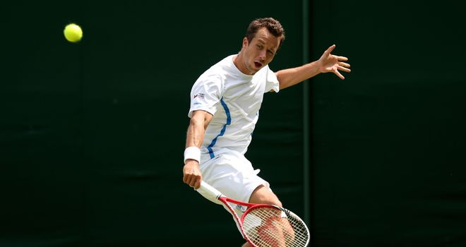 Philipp Kohlschreiber: Retired in the fifth set