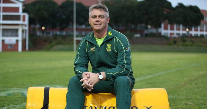 Springbok coach Heyneke Meyer: selected nine uncapped players in his 34-man squad
