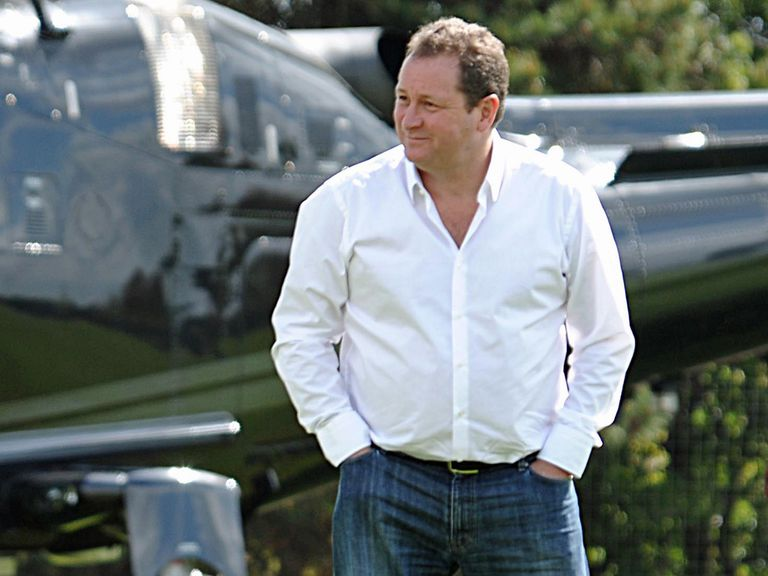 Mike Ashley: Coming under fire from Newcastle fans