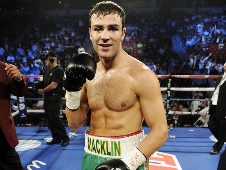 Macklin: Soundly beaten in the USA