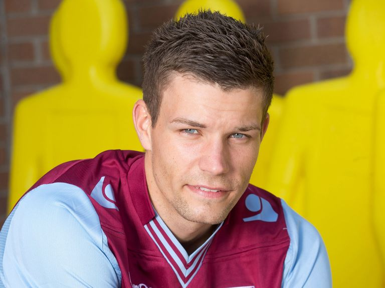 Helenius: Becomes Aston Villa's fourth signing of the summer