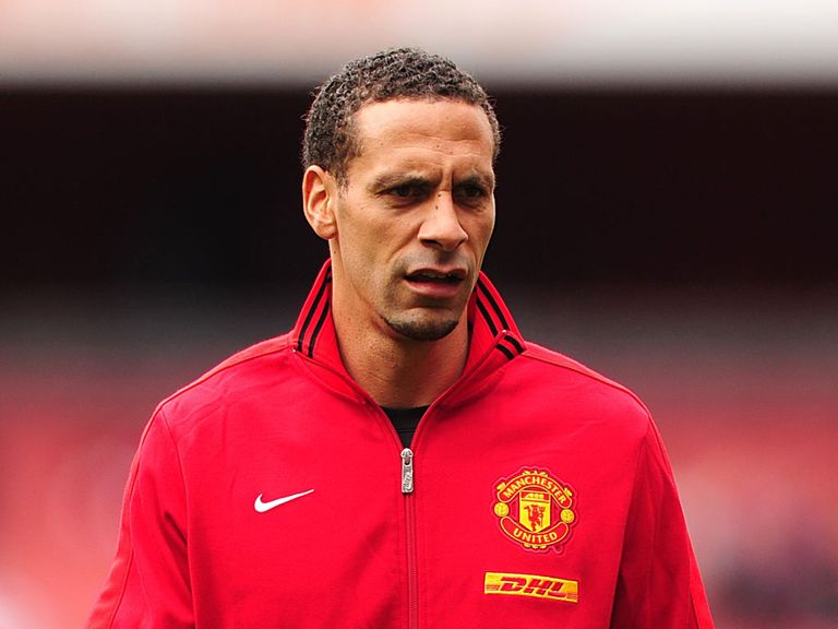 Ferdinand: About to emabrk on his 12th season at Man Utd