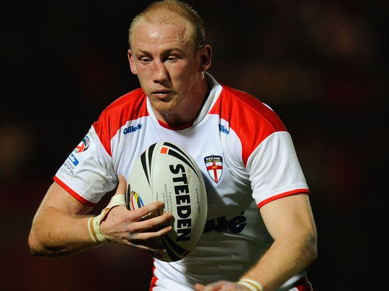 Shaun Briscoe: Awarded a testimonial by the RFL this year